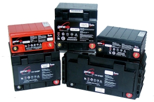 Genesis battery range from Enersys