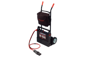 The Red Flash - Portable Power Pack - Aviation Engine Starter - 1500 with trolley