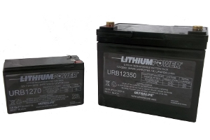 Ultralife Lithium Deep Cycle Batteries